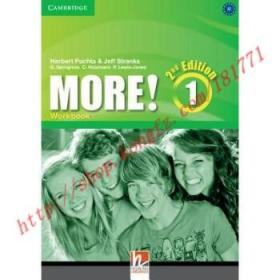 【全新正版】More! Level 1 Workbook