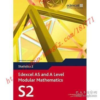 【全新正版】Edexcel AS and A Level Modular Mathematics Stat...