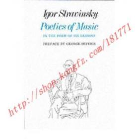 【全新正版】Poetics of Music in the Form of Six Lessons