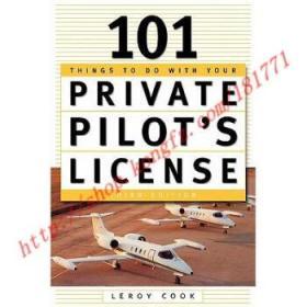 【全新正版】101 Things to Do After You Get Your Private ...