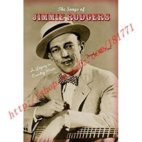 【全新正版】The Songs of Jimmie Rodgers: A Legacy in Cou...