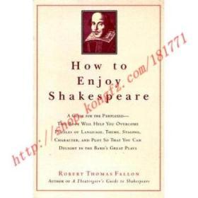 【全新正版】How to Enjoy Shakespeare