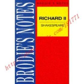 【全新正版】Shakespeare: Richard II