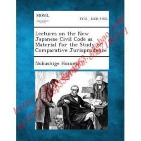 【全新正版】Lectures on the New Japanese Civil Code as M...