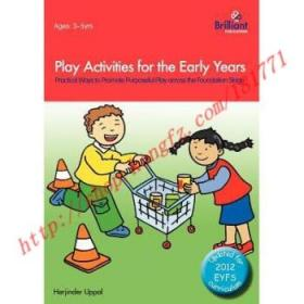 【全新正版】Play Activities for the Early Years - Practi...