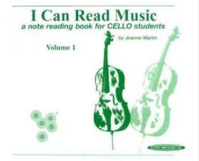 I Can Read Music, Vol 1: A Note Reading Book for Cello Students
