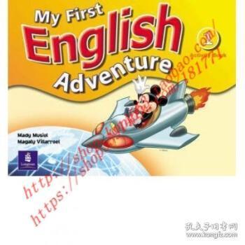 【全新正版】My First English Adventure Level 1 Activity ...