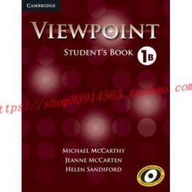【全新正版】Viewpoint Level 1 Student's Book B
