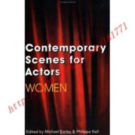 【全新正版】Contemporary Scenes for Actors : Women