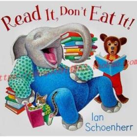 【全新正版】Read It, Don't Eat It!