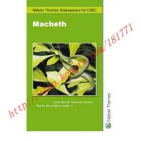 【全新正版】Nelson Thornes Shakespeare for CSEC: Macbeth