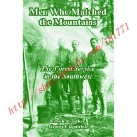 【全新正版】Men Who Matched the Mountains: The Forest Se...