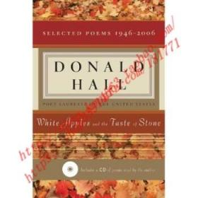 【全新正版】White Apples and the Taste of Stone: Selecte...