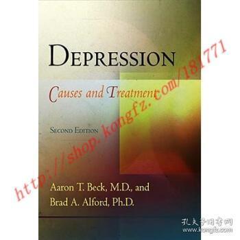 【全新正版】Depression: Causes and Treatment
