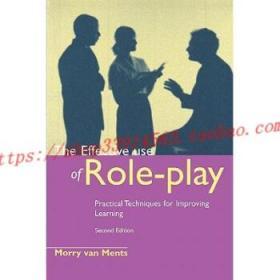 【全新正版】The Effective Use of Role Play