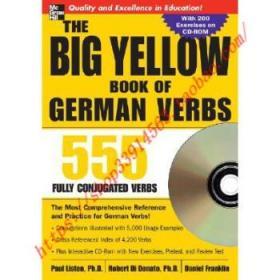 【全新正版】The Big Yellow Book of German Verbs (Book W/...