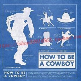 【全新正版】How to Be a Cowboy