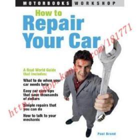 【全新正版】How to Repair Your Car