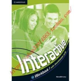 【全新正版】Interactive Level 1 Workbook with Downloadab...