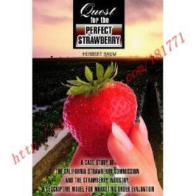 【全新正版】Quest for the Perfect Strawberry: A Case Stu...