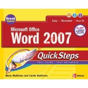 【全新正版】Microsoft Office Word 2007 QuickSteps