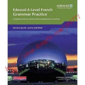 【全新正版】Edexcel A Level French Grammar Practice Book...