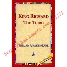 【全新正版】King Richard III
