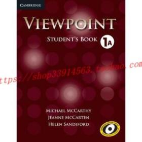 【全新正版】Viewpoint Level 1 Student's Book a