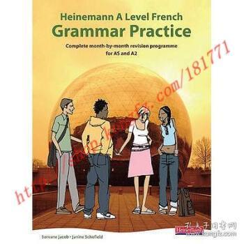 【全新正版】Heinemann A Level French Grammar Practice: C...