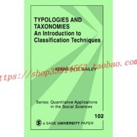 【全新正版】Typologies and Taxonomies: An Introduction t...