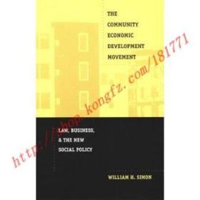 【全新正版】The Community Economic Development Movement:...