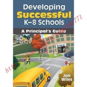 【全新正版】Developing Successful K-8 Schools: A Princip...