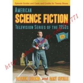 【全新正版】American Science Fiction Television Series o...