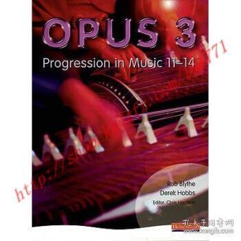 【全新正版】Opus: Student Book 3: Progression in Music 1...