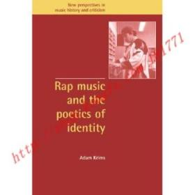 【全新正版】Rap Music and the Poetics of Identity: - Rap...