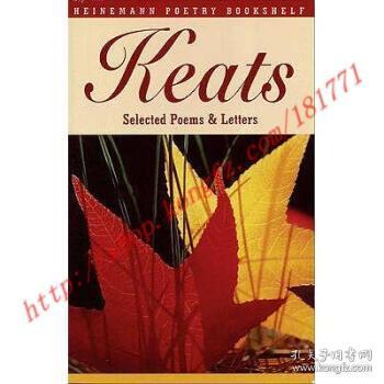 【全新正版】Heinemann Poetry Bookshelf: Keats Selected P...
