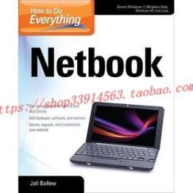 【全新正版】How to Do Everything Netbook