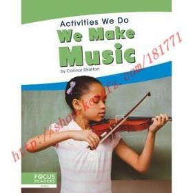 【全新正版】Activities We Do: We Make Music