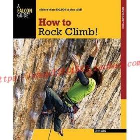 【全新正版】How to Rock Climb!