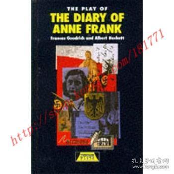 【全新正版】Play of the Diary Of Anne Frank