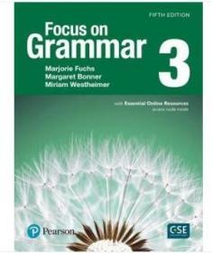 Focus on Grammar 3 with Essential Online Resources