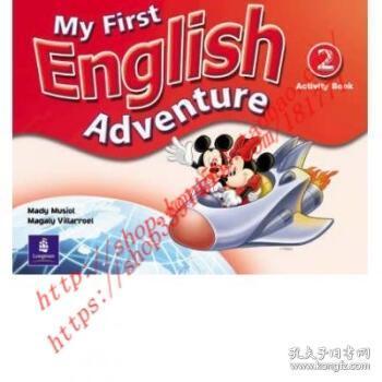 【全新正版】My First English Adventure Level 2 Activity ...