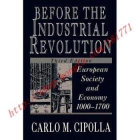 BeforetheIndustrialRevolution