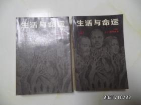 生活与命运(上下册全,大32开,1990年1版2印,有私章,自然旧,详见图S)