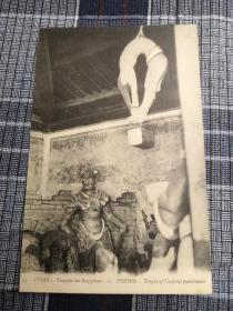 北京老明信片,清末肉刑寺庙,肉体刑罚
