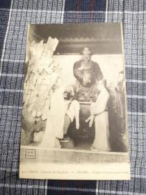 北京老明信片,肉刑寺庙,肉体刑罚,清末