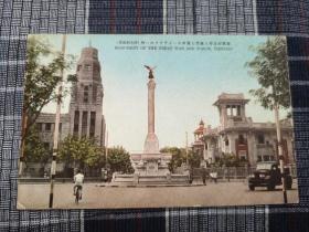 天津老明信片,意大利租界,回力球场,马可波罗广场