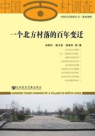 一个北方村落的百年变迁                   中国百村调查丛书             林聚任 解玉喜 杨善民 等著