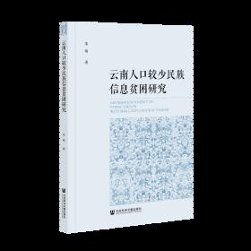 云南人口較少民族信息貧困研究                  朱明 著