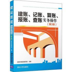 【新华书店】建账、记账、算账、报账、查账实务操作( 3版)